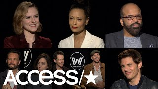 'Westworld': Evan Rachel Wood, Thandie Newton & More Describe Season 2 In Two Words! | Access