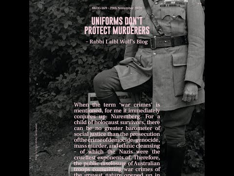 Uniforms Don't Protect Murderers