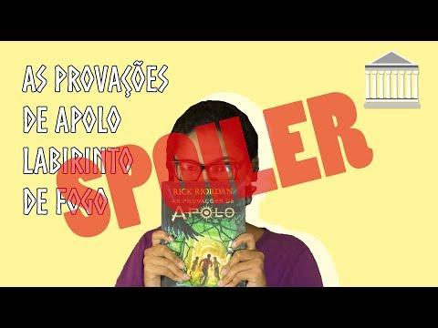 COMENTÁRIOS DE LABIRINTO DE FOGO (COM SPOILER)   MONTE OLIMPO