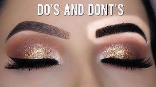 EYEBROW HACKS - Eyebrow Dos And Donts!