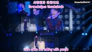 B1A4 (Sandeul) - Crush [BABA B1A4 in Japan] (Hangul, Romanization, Eng Sub)