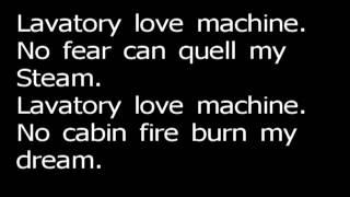 Lavatory love machine - Edguy (Lyrics)
