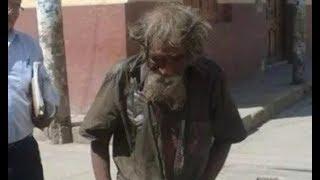 Соседи помыли и расчесали несчастного бездомного. После преображения его просто не узнать