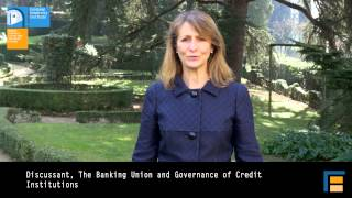 Conference: The Banking Union and the creation of duties | Chiara Zilioli - ECB