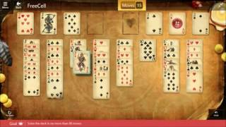 Star Club Fable Hard Freecell Solve Deck No More Than 88