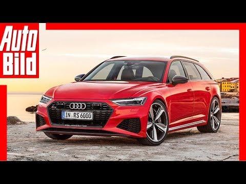 Zukunftsaussicht: Audi RS 6 Avant (2019) erste Bilder - Neuvorstellung - Infos