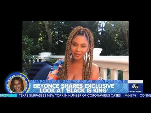 "EXCLUSIVE: Beyoncé Talks ""Black Is King"" On Good Morning America!"