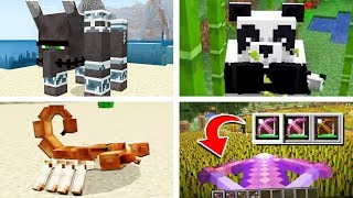 EVERYTHING NEW In Minecraft 1.14! (Crossbows, Pandas, Pillager Update)