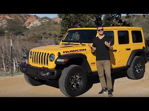 2020 Jeep Wrangler EcoDiesel Test Drive Video Review