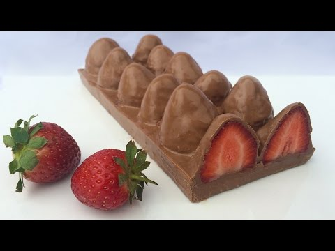 HOW TO MAKE STRAWBERRY CHOCOLATE Ann Reardon How To Cook That