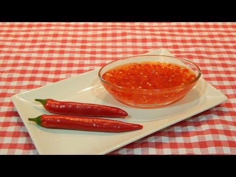 Receta muy fácil de salsa agridulce picante