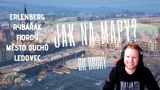 World of Tanks - Jak na mapy - Díl druhý (Erlenberg, Rybářák, Fjordy, Město duchů, Ledovec)