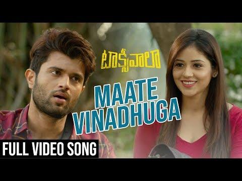 Actor Vijay Devarakonda Taxiwala Telugu Movie Video Song