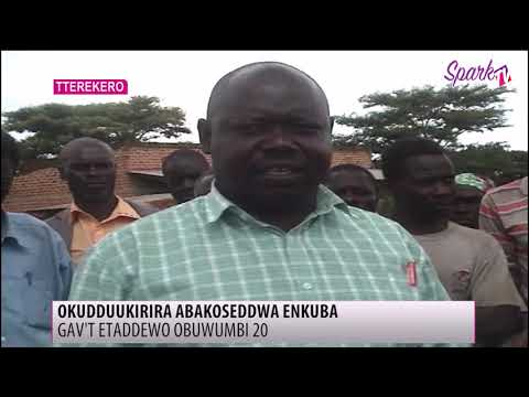 Gavt ettaddewo obuwumbi 20 okuddukirira abakoseddwa amataba