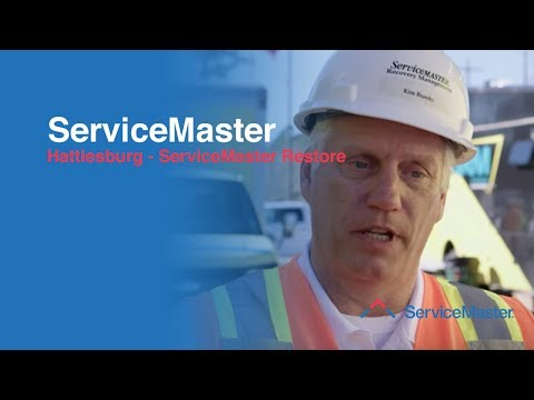 Our large loss team members along with other ServiceMaster Companies nationwide responded to Hattiesburg,...