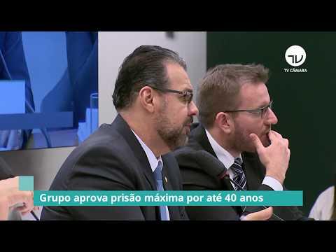GT anticrime aumenta para 40 anos tempo máximo de cumprimento de pena - 22/08/19