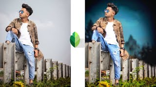 Snapseed background change manipulation editing || amazing colour effect editing tricks