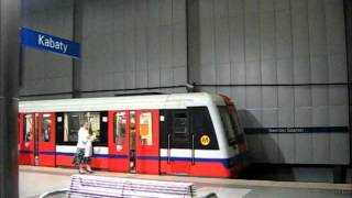 preview picture of video 'Warszawskie metro  / Warsaw subway'