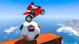 I Spent 5 HOURS On THIS STUNT In GTA 5!