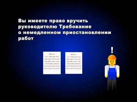 Организация работы уполномоченного по охране труда! Видеопособие!