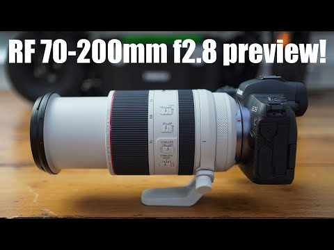 External Review Video d14Rs7lDkwc for Canon RF 70-200mm F2.8L IS USM Lens