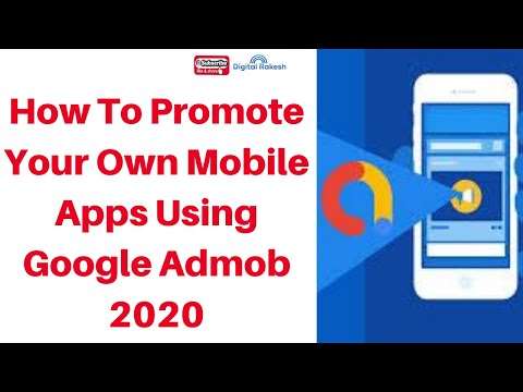 How to promote your own mobile apps using google admob 2020