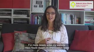 How to renovate in Israel with Debby Schor Elyasy - Introductory meeting