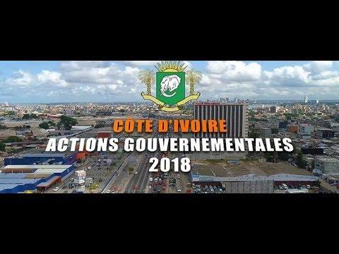 CÔTE D'IVOIRE : ACTIONS GOUVERNEMENTALES 2018