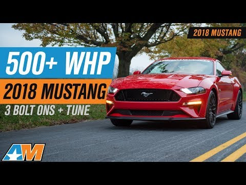 Hitting 500+ RWHP NA In Our 2018 Ford Mustang GT With Bolt Ons