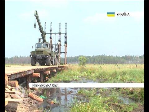 Військові інженери відпрацьовують навички будівництва мостів на Рівненщині