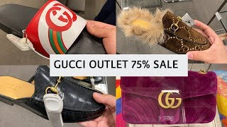 DESIGNER OUTLET SHOPPING | GUCCI 75% SALE