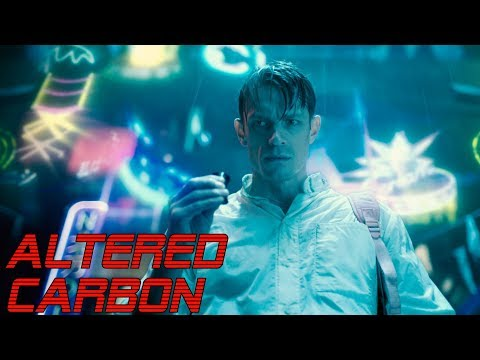 'ALTERED CARBON'   Best of Synthwave and Cyberpunk Music Mix