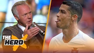 Warren Barton on what Messi does better than Ronaldo, World Cup favorites | SOCCER | THE HERD