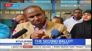 Abduba Dida commends engineers working on Outering road and challenges Governor Mike Sonko for bumps