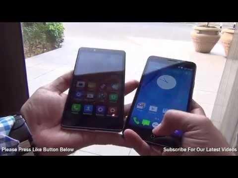 Yu Yureka VS Xiaomi Redmi Note Comparison Video: Yu VS Mi