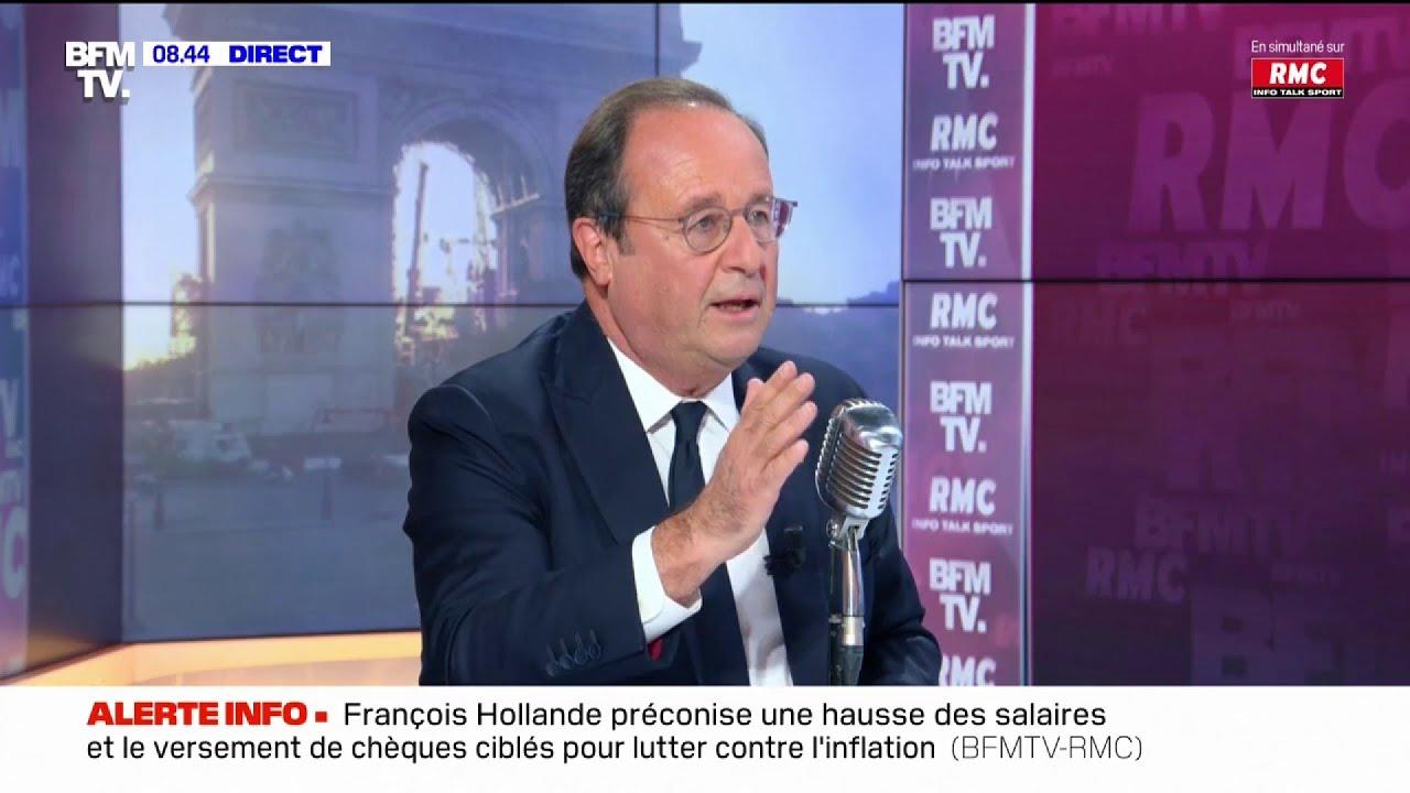 """""""Je voterai pour elle"""", François Hollande donnera son vote à Anne Hidalgo."""