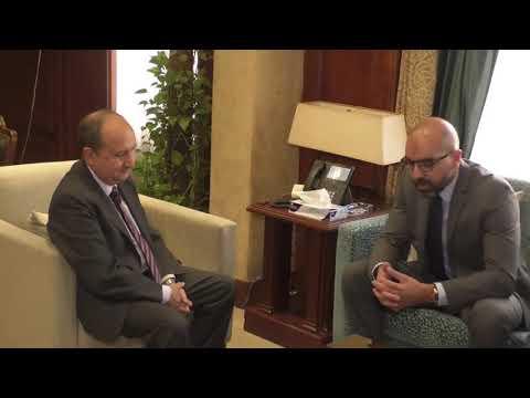 لقاء الوزير/ عمرو نصار مع المدير الإقليمي لشركة بروكتر أند جامبل