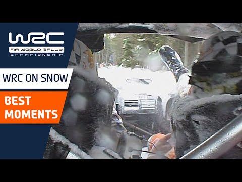 WRC 2021 第2戦のラリーフィンランド 過去の雪上ラリーからベストシーンを集めたダイジェスト動画