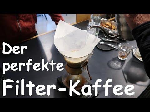 Der perfekte Filter-Kaffee - eine Anleitung. Im Einsatz: Die Chemex!