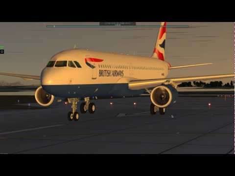 X-Plane 10 - JARDesign Airbus A320 Neo with Blue Sky Star