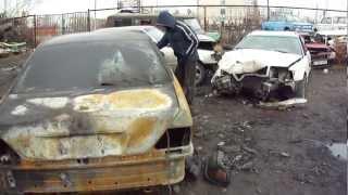 Поджог в Экибастузе на акиматовской штрафной стоянке