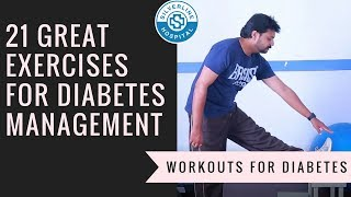 21 Great Exercises For People With Diabetes | Simple Diabetes Exercise At Home