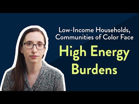 Energy Costs Disproportionately High for Minority and Low-Income Families