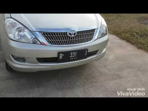 Video Facelift Toyota Inova lama menjadi baru (2005 ke 2015) by Abraham Pribadi