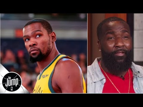 'KD, you know I'm riding with you': Kendrick Perkins backs Kevin Durant amid criticism | The Jump