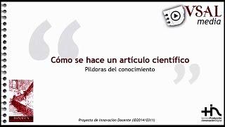 PROCESO EDITORIAL DE UNA REVISTA CIENTÍFICA
