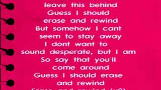 Erase & Rewind - Lyrics+Download - Ashley Tisdale