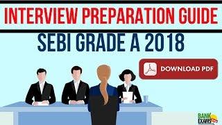 SEBI Grade A Interview Preparation Guide - Download PDF