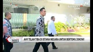 Naik Mobil B 2024 AHY, Agus Harimurti Tiba Di Istana Untuk Temui Presiden Jokowi