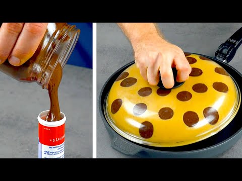 How To Make The Biggest Stuffed Cookie In The World! 🍪